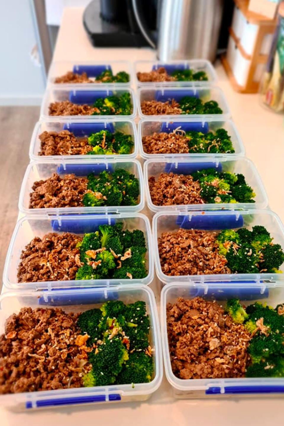 Meal prepping for weight loss