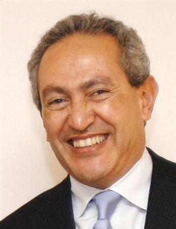 Nassef Sawiris, director and chief executive of Orascom Construction Industries (OCI) poses for a picture in Paris