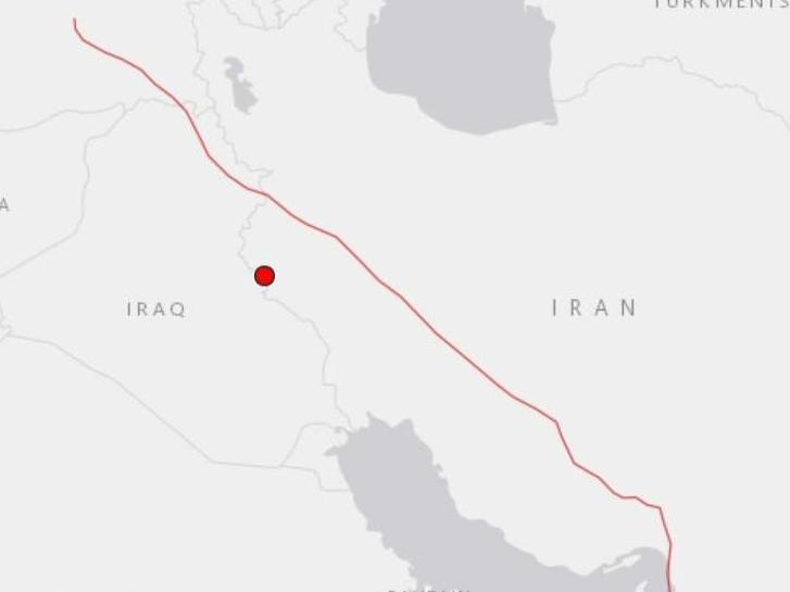 The quake struck at a depth of 10 km (6.2 miles): US Geological Survey