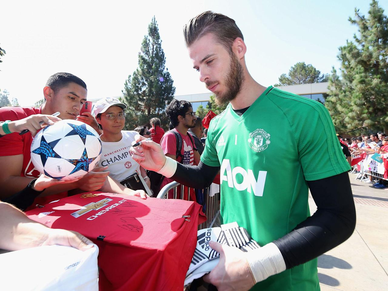 Manchester United 'open' to selling David De Gea this summer but Real Madrid pulled plug - Jose Mourinho