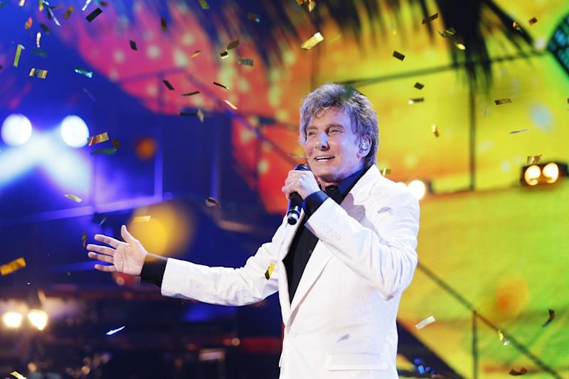 Programme Name: Children in Need Rocks 2013 - TX: n/a - Episode: n/a (No. n/a) - Embargoed for publication until: n/a - Picture Shows: Barry Manilow - (C) BBC - Photographer: Guy Levy