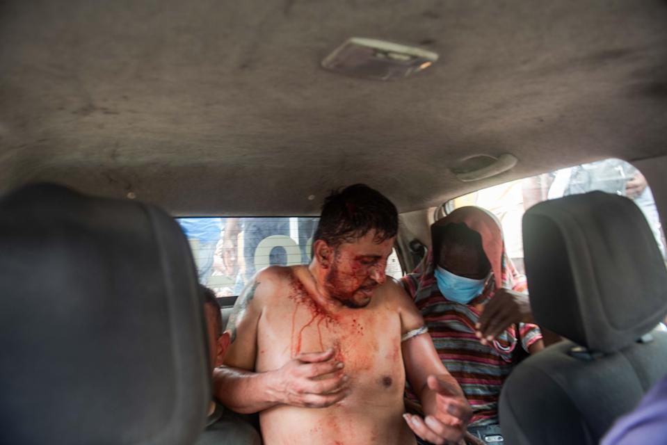 One of the two men who are under Police custody for allegedly participating in the assassination plot (EPA)