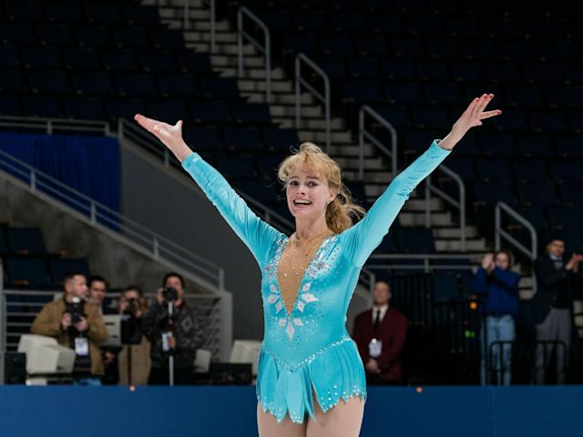Margot Robbie duplicated the Olympic skater's routines with the help of choreographer Sarah Kawahara and VFX producer Juliet Tierney. (Photo: 30West)