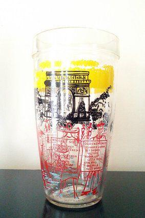 """<a href=""""https://www.etsy.com/ca/listing/182315975/vintageretro-windmill-paris-recipe?ref=br_feed_4&br_feed_tlp=gifts"""" target=""""_blank"""">Vintage/Retro Windmill-Paris Recipe Cocktail Shaker, $15, available at Etsy </a>"""