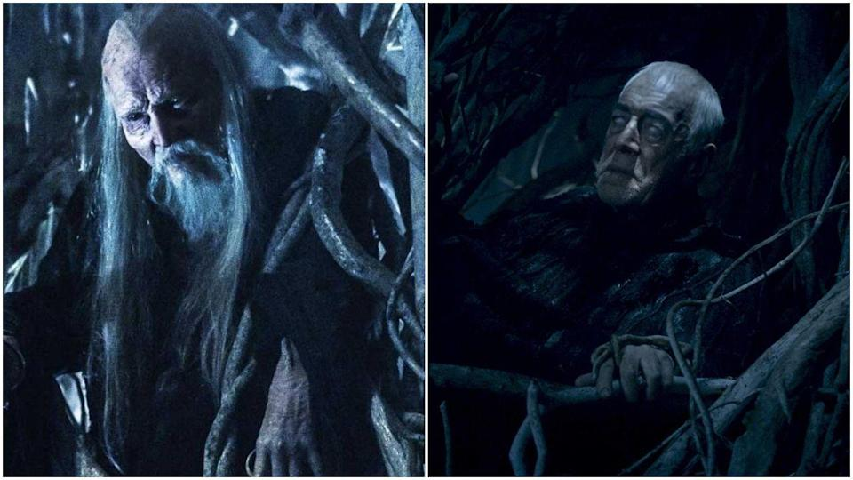 "<p>Well, well, look who it is with another inexplicable recasting. <a href=""https://www.vanityfair.com/hollywood/2015/08/game-of-thrones-max-von-sydow-three-eyed-raven-season-6"" rel=""nofollow noopener"" target=""_blank"" data-ylk=""slk:To be fair"" class=""link rapid-noclick-resp"">To be fair</a>, up until Max von Sydow took over, the role basically consisted of Struan Rodger dramatically sitting in a tree like a low-budget Gandalf. So it wasn't a complete shock. </p>"