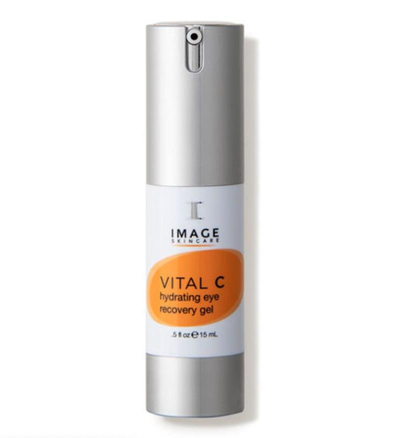 """A great one for all skin types and conditions is the <a href=""https://fave.co/3eozSJC"" target=""_blank"" rel=""noopener noreferrer"">Image Vital C Hydrating Eye Recovery Gel.</a> It is velvety and melts right into the skin, providing a boost of hydration and cooling sensation."" &mdash; <strong>Serron at HeyDay</strong>. Find it for $50 at <a href=""https://fave.co/3eozSJC"" target=""_blank"" rel=""noopener noreferrer"">Dermstore</a>."