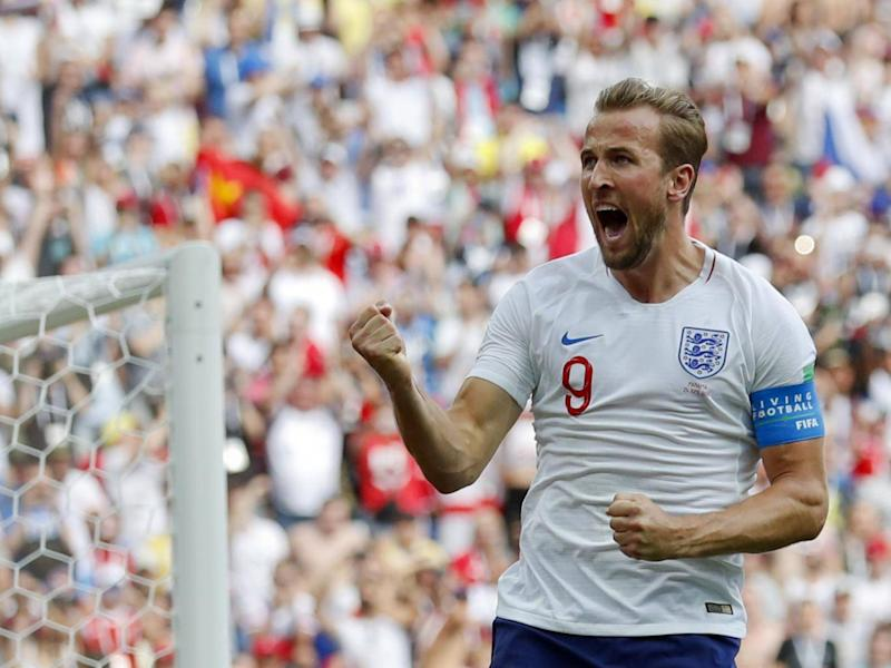 Kane scored five in the group stage and a sixth against Colombia (AP)