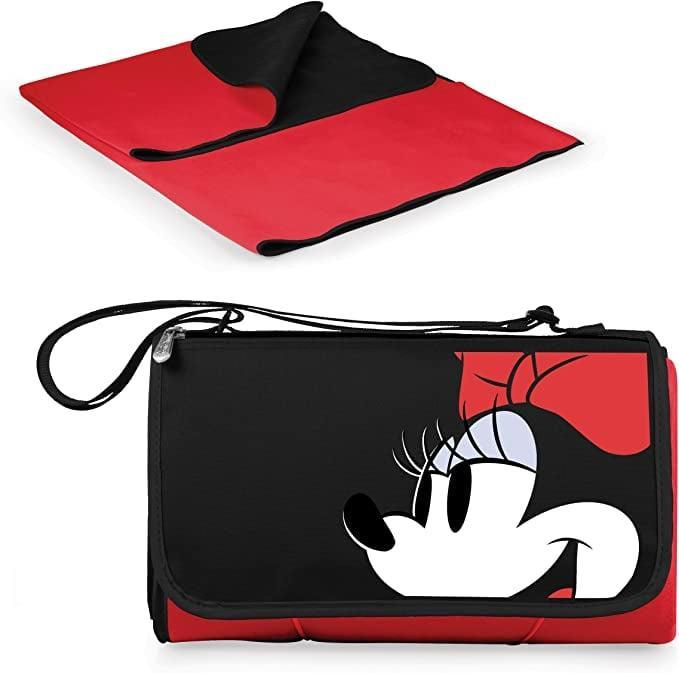 <p>Create the ultimate outdoor dining experience wherever you go with this <span>Picnic Time Disney Classics Mickey Mouse Outdoor Picnic Blanket Tote</span> ($33). When folded into the tote, it is 13 inches by 10 inches, but when in use, it is 59 inches by 51 inches.</p>