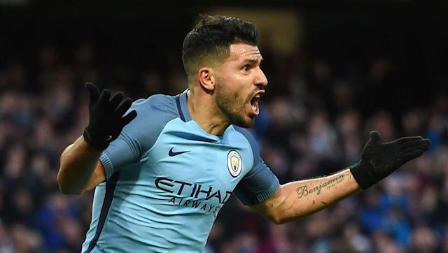 """<p>Sergio Aguero, like Kevin De Bruyne, is having a """"poor season"""", despite plundering 22 goals in all competitions this season so far.</p> <br><p>It is a testament to his ability that that is considered a poor season, and that ability cannot be ignored here.</p> <br><p>Aguero is one of the most lethal marksmen the Premier League has ever seen, and obviously gets in this combined XI over Arsenal's Olivier Giroud.</p>"""
