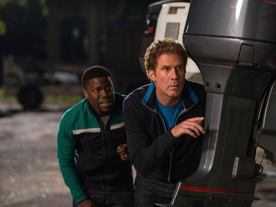 Kevin Hart and Will Ferrell in Get Hard (© Warner Brothers 2015)