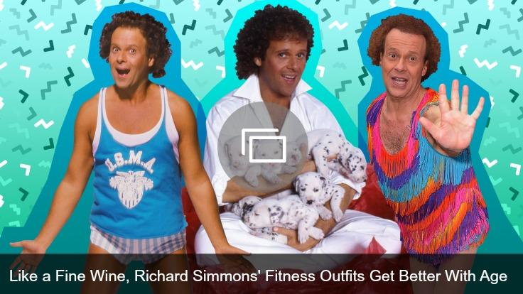Richard Simmons fashion
