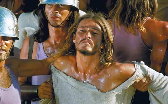 Ted Neeley as Jesus in the 1973 film version - AF archive / Alamy Stock Photo