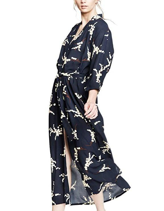 """<br><br><strong>Kim + Ono</strong> Crepe Robe, $, available at <a href=""""https://amzn.to/2X1OM3n"""" rel=""""nofollow noopener"""" target=""""_blank"""" data-ylk=""""slk:Amazon"""" class=""""link rapid-noclick-resp"""">Amazon</a>"""