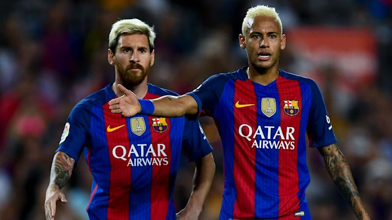 Neymar credits Messi with rescuing Barcelona career