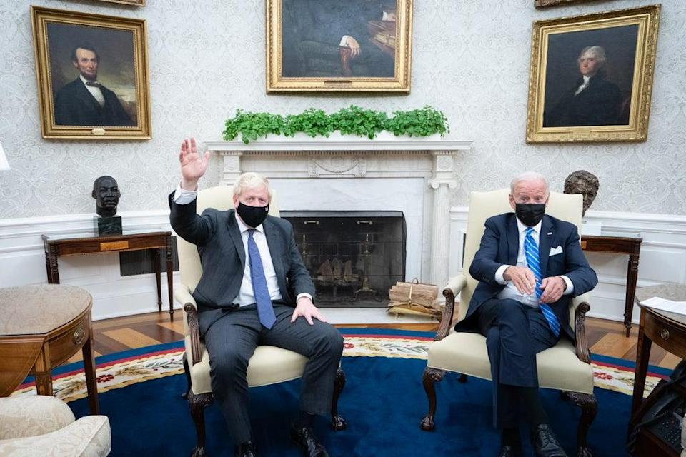 President Joe Biden made the comments on Cop26 during a meeting with Prime Minister Boris Johnson at the White House (Stefan Rousseau/PA) (PA Wire)