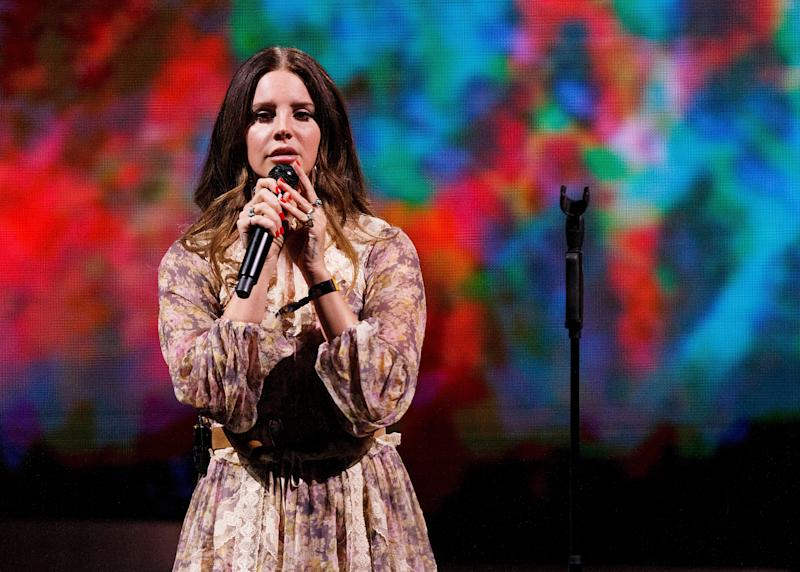 """Spread out over six years, Lana Del Rey has a total of six Grammy nominations to her name.<br /><br />Although so far she's without a win, 2020 could well be her year, as she's up for two of the so-called """"big three"""" thanks to her album Norman Fucking Rockwell, and its title track, which is up for Song Of The Year."""
