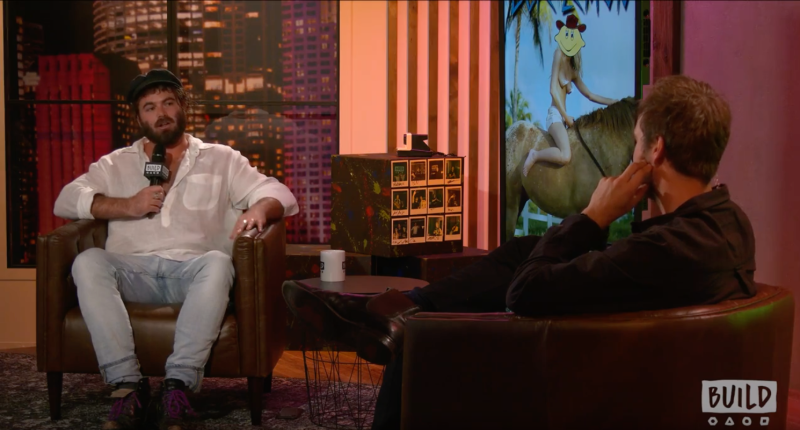 Musician Angus Stone chats with host Danny Clayton on Build Series Sydney.
