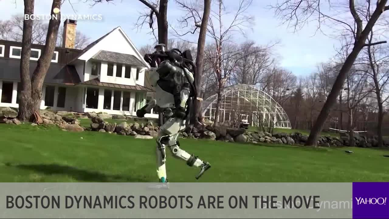 Boston Dynamics Robots Have More Steps Than You Do Today Video