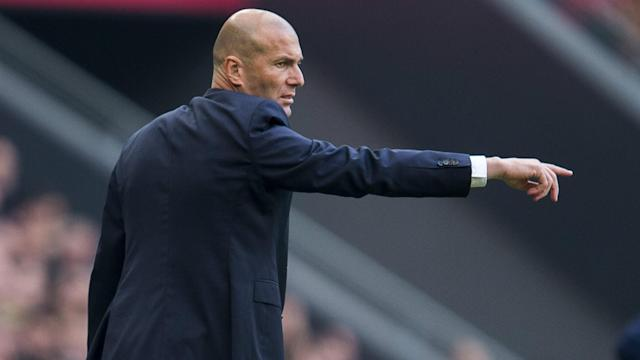 "A five-point gap to Barcelona at the top of LaLiga ""means nothing"" for Real Madrid boss Zinedine Zidane at this stage of the season."