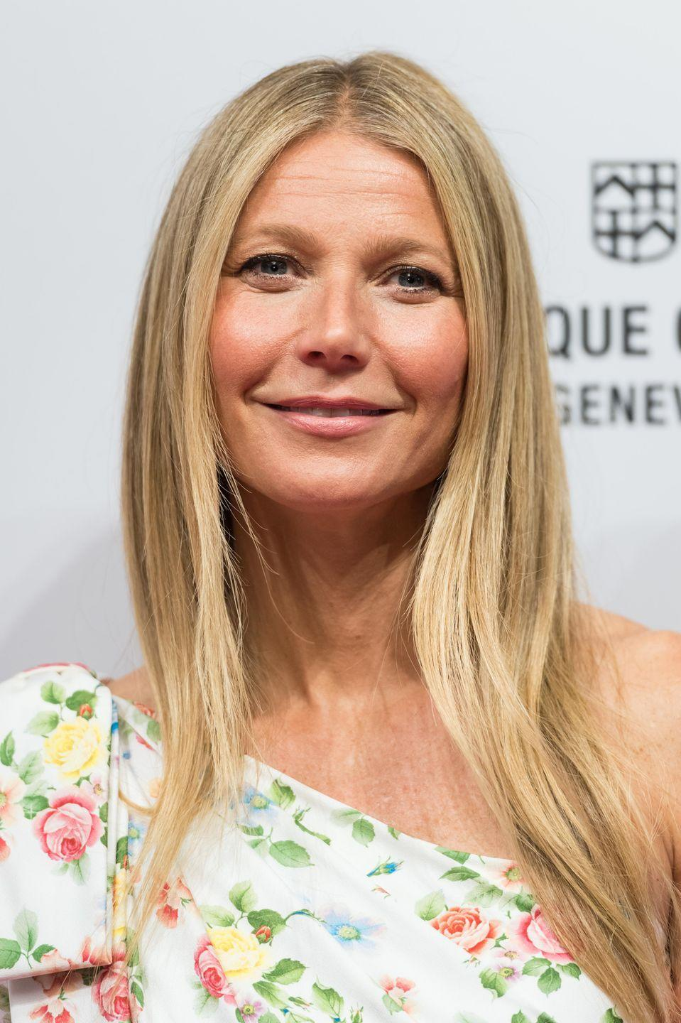 "<p>Health guru Gwyneth Paltrow told <em>Harper's Bazaar</em> that she's tried everything when it comes to skincare, including Botox. ""I'll try anything. Except I won't do Botox again, because I looked crazy. I looked like Joan Rivers!"" Gwyneth <a href=""https://www.huffpost.com/entry/gwyneth-paltrow-botox-crazy_n_3061576"" data-ylk=""slk:said in 2013"" class=""link rapid-noclick-resp"">said in 2013</a>.</p>"