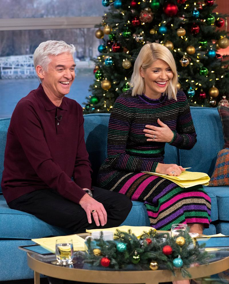 The pair present This Morning and Dancing On Ice together (Photo: Ken McKay/ITV/Shutterstock)