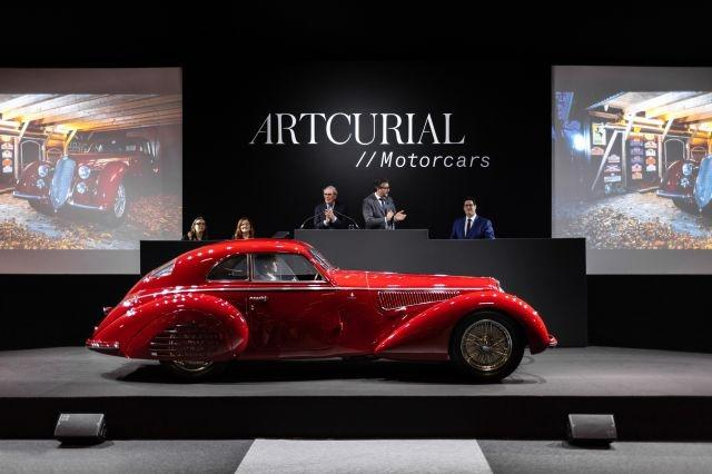 Alfa Romeo sells for over €16 million as the star of the Rétromobile by Artcurial auction