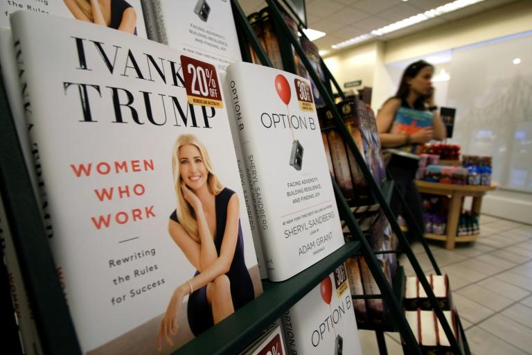 Ivanka Trump says she wrote her latest book -- billed as a self-help guide for working women -- before her father's shock election