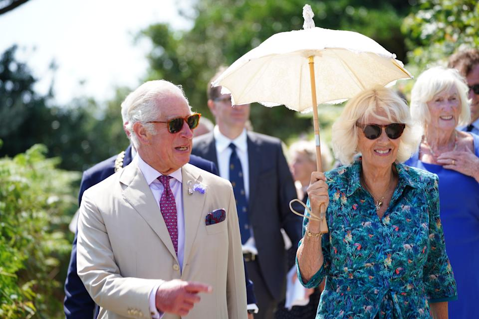 The Prince of Wales and the Duchess of Cornwall visit Bryher, Isles of Scilly (Ben Birchall/PA) (PA Wire)
