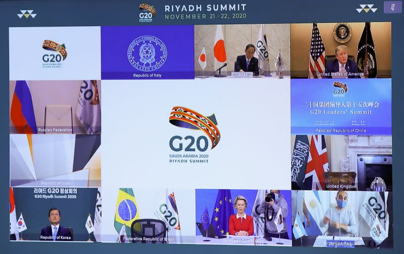Virtual G20 meeting hosted by Saudi Arabia