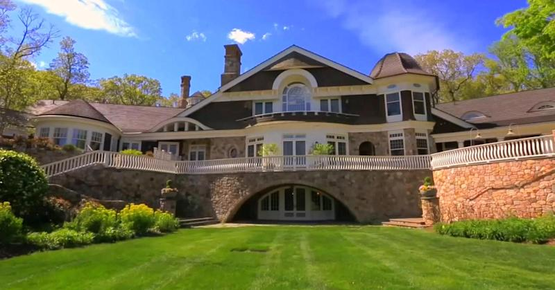 This 39 Million New Jersey Mansion Has A 7 Figure Wine Cellar And Secret Passageways