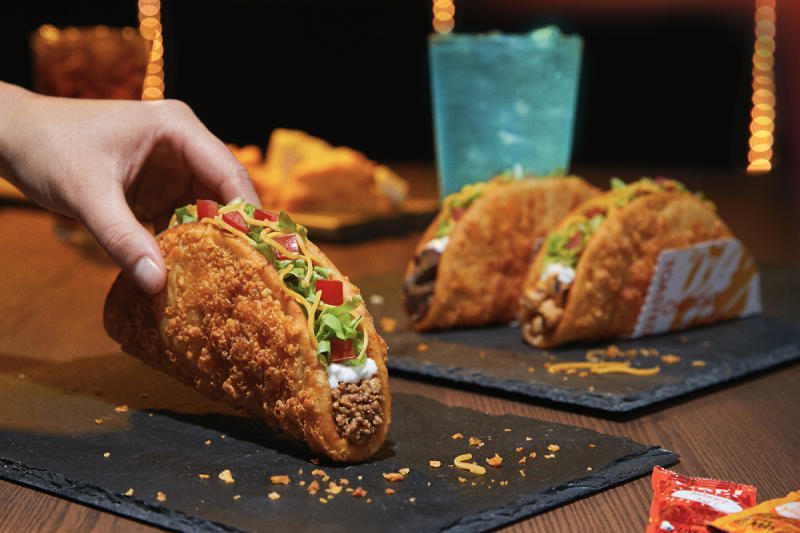 Taco Bell Toasted Cheddar Chalupa (Courtesy of Taco Bell)