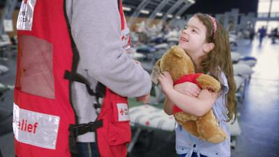 For the third consecutive year, Build-A-Bear® and the American Red Cross are partnering to provide bear hugs to families when disaster strikes. The American Red Cross will receive a donation from Build-A-Bear of several thousand furry friends, which the Red Cross organization will distribute during disaster-relief operations throughout the year. Additionally, from May 2 through May 29, Guests of Build-A-Bear Workshop® can donate to the nonprofit organization at checkout in stores and online.