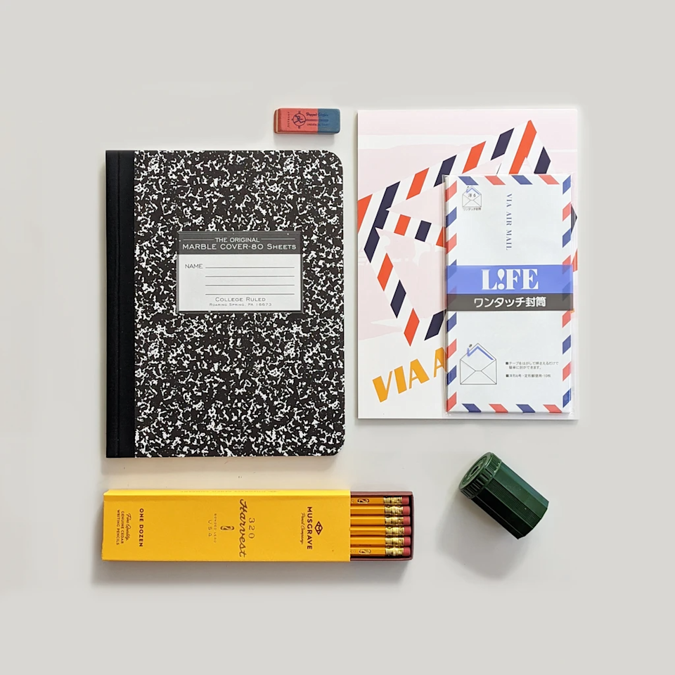 """<h3>CW Pencil Enterprise Stationery Icons Gift Set</h3><br>CW Pencil Enterprise is another Lower East Side/Chinatown gem. Stationary and pencil lovers will feel like kids in a candy store browsing their goods. <br><br><strong>CW Pencil Enterprise</strong> Stationary Icons Gift Set, $, available at <a href=""""https://go.skimresources.com/?id=30283X879131&url=https%3A%2F%2Fcwpencils.com%2Fcollections%2Fgift-sets-and-samplers%2Fproducts%2Fstationery-icons-gift-set"""" rel=""""nofollow noopener"""" target=""""_blank"""" data-ylk=""""slk:cw pencil enterprise"""" class=""""link rapid-noclick-resp"""">cw pencil enterprise</a>"""