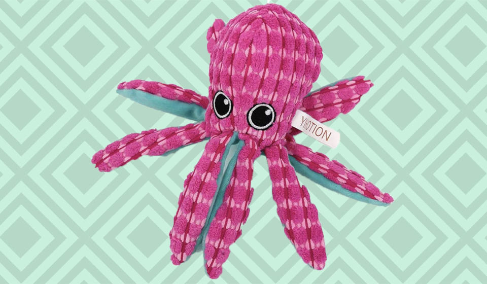 One big head, eight crunchy tentacles, hundreds of hours of fun. (Photo: Amazon)