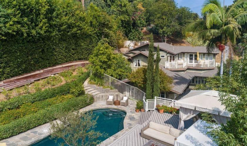 """The gated estate holds a 116-year-old Craftsman, two guesthouses and a swimming pool across two-thirds of an acre. <span class=""""copyright"""">(Realtor.com)</span>"""