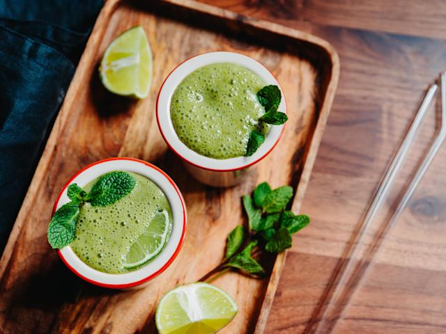 Look forward to your daily green smoothie. (Photo: Getty)