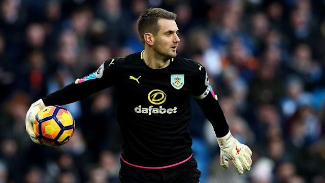 <p>Since Joe Hart's Guardiola-imposed exile and Fraser Forster's weakest campaign at Southampton to date, Tom Heaton has begun to look for all the world like England's best goalkeeper.</p> <br><p>The 30-year-old can claim the most saves in the division so far with 104 stops, and is behind only Sunderland's Jordan Pickford for average saves per game with 4.5.</p> <br><p>Heaton has also played his part in an impressive six clean sheets this season, and stands out as one of Sean Dyche's key players that have ensured Premier League survival is but a formality for the Clarets thanks to a formidable home record. </p> <br><p><strong>On the bench:</strong></p> <p><em>Victor Valdes</em></p>