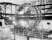 """<p>Instead of the Cannon Coaster, Luna Park came back with a Loop the Loop, which had a more ovular, more comfortable inversion for riders. Still, since you could fit so few riders on the track at a time, it was hard for ride operators to make a profit on this one.</p><p><strong>RELATED:</strong> <a href=""""https://www.goodhousekeeping.com/life/g25135266/iconic-stores-no-longer-around/"""" rel=""""nofollow noopener"""" target=""""_blank"""" data-ylk=""""slk:40 Iconic Stores You Grew up With That Are No Longer in Business"""" class=""""link rapid-noclick-resp"""">40 Iconic Stores You Grew up With That Are No Longer in Business</a></p>"""