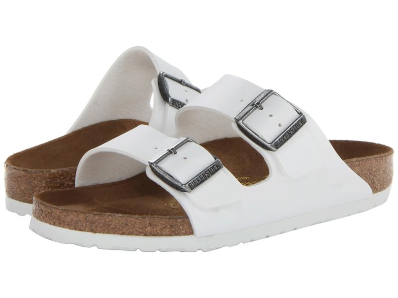 Available in various colors, the Birkenstock Arizona sandals are one of the most popular styles for summer. (Photo: Zappos)