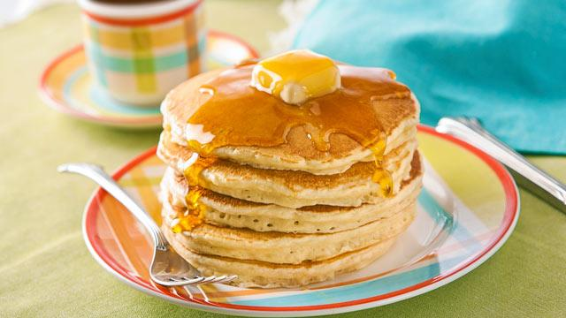 The Secret's Out, Here's the Perfect Pancake Formula