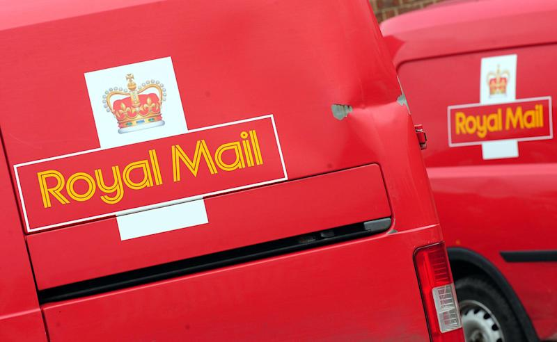 File photo dated 21/05/13 of Royal Mail vans as Royal Mail is expected to be valued at between £2.6 billion and £3.3 billion when it lists on the Stock Market.