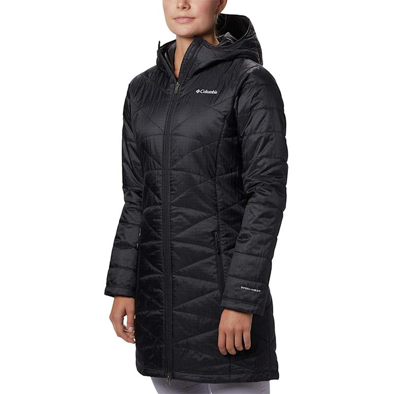 This coat is so lightweight, you won't feel like you're bundled up, but you'll definitely feel the warmth. (Photo: Amazon)