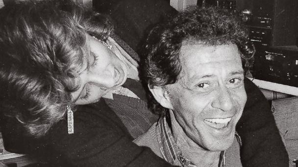 PHOTO: Joely Fisher hugs her father, Eddie Fisher, in this undated family photo. (Courtesy Joely Fisher)