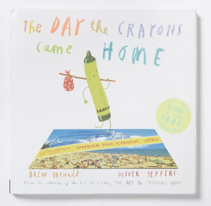 """<p>The follow-up to the bestselling picture book <i>The Day the Crayons Quit </i>is funnier than the original, <i>Parents </i>says. <a href=""""http://www.amazon.com/The-Day-Crayons-Came-Home/dp/0399172750"""" rel=""""nofollow noopener"""" target=""""_blank"""" data-ylk=""""slk:Buy"""" class=""""link rapid-noclick-resp"""">Buy</a> for kids ages 4 to 8. <i>(Photo: Philomel Books)</i></p>"""