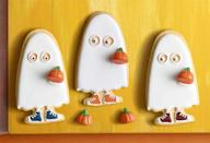 """<p>You can customize these sugar cookies to look however you want!</p><p><strong><em><a href=""""https://www.womansday.com/food-recipes/food-drinks/a23301516/trick-or-treater-sugar-cookies/"""" rel=""""nofollow noopener"""" target=""""_blank"""" data-ylk=""""slk:Get the Trick-or-Treater Sugar Cookies recipe."""" class=""""link rapid-noclick-resp"""">Get the Trick-or-Treater Sugar Cookies recipe. </a></em></strong> </p>"""