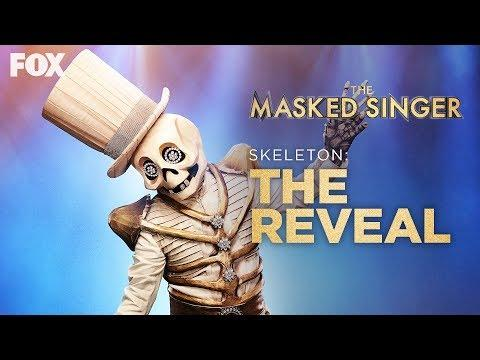 "<p><strong>The Masked Singer: </strong>Paul Shaffer</p><p><strong>Date of Reveal:</strong> October 16</p><p>There's no doubt about it: The Skeleton put up a good fight in the competition. But his cover of Jet's ""Are You Gonna Be My Girl?"" was overshadowed by the Thingamajig, Butterfly, Black Widow, Flamingo, and Leopard's stunning performances. In the last few minutes of the episode, Nick Cannon revealed the sad news that the Skeleton had received the least number of votes. Of course, that didn't stop Paul Shaffer from flashing a big smile when he was revealed to the audience and judges.</p><p><a href=""https://www.youtube.com/watch?v=jXftDp5c0d0"">See the original post on Youtube</a></p><p><a href=""https://www.youtube.com/watch?v=jXftDp5c0d0"">See the original post on Youtube</a></p><p><a href=""https://www.youtube.com/watch?v=jXftDp5c0d0"">See the original post on Youtube</a></p><p><a href=""https://www.youtube.com/watch?v=jXftDp5c0d0"">See the original post on Youtube</a></p><p><a href=""https://www.youtube.com/watch?v=jXftDp5c0d0"">See the original post on Youtube</a></p><p><a href=""https://www.youtube.com/watch?v=jXftDp5c0d0"">See the original post on Youtube</a></p><p><a href=""https://www.youtube.com/watch?v=jXftDp5c0d0"">See the original post on Youtube</a></p><p><a href=""https://www.youtube.com/watch?v=jXftDp5c0d0"">See the original post on Youtube</a></p><p><a href=""https://www.youtube.com/watch?v=jXftDp5c0d0"">See the original post on Youtube</a></p><p><a href=""https://www.youtube.com/watch?v=jXftDp5c0d0"">See the original post on Youtube</a></p><p><a href=""https://www.youtube.com/watch?v=jXftDp5c0d0"">See the original post on Youtube</a></p><p><a href=""https://www.youtube.com/watch?v=jXftDp5c0d0"">See the original post on Youtube</a></p>"