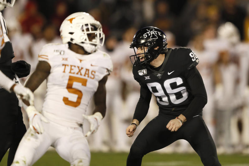 Assalley's 36-yard FG gives Iowa State 23-21 win over Texas
