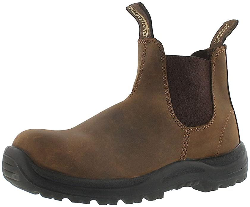 Blundstone Unisex CSA Greenpatch Pull-On Boot. Image via Amazon.