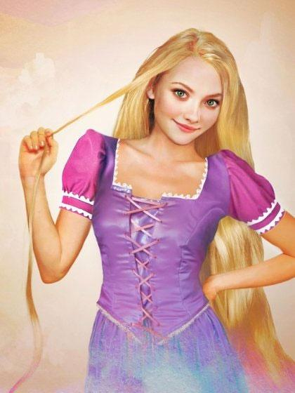 """Actress Amanda Seyfried, who recently portrayed Little Red Riding Hood on screen, would be perfectly cast as the real life Rapunzel based on Jirka's rendering. <br><br>All photos by: <a href=""""http://www.jirkavinse.wordpress.com"""" rel=""""nofollow noopener"""" target=""""_blank"""" data-ylk=""""slk:jirkavinse.wordpress.com"""" class=""""link rapid-noclick-resp"""">jirkavinse.wordpress.com</a>"""