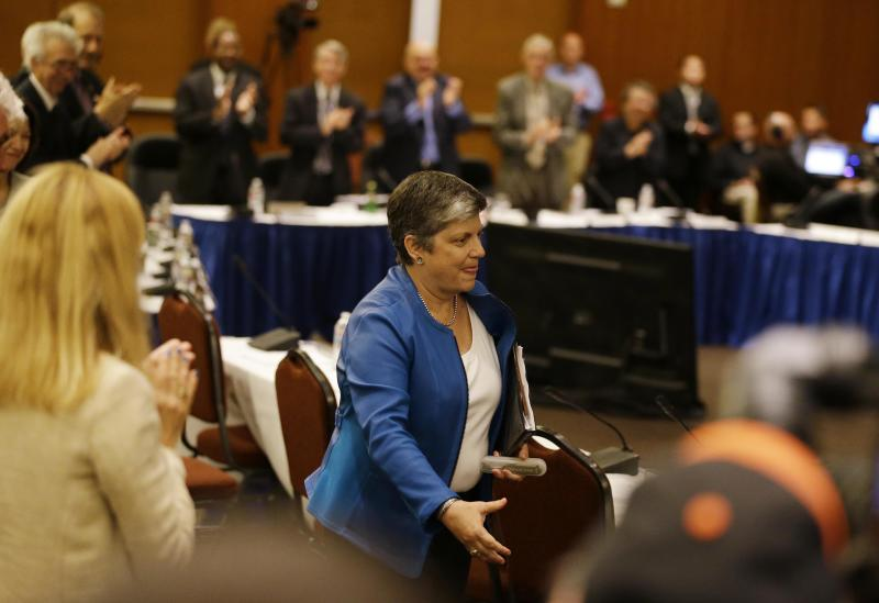 Napolitano approved as first female UC president